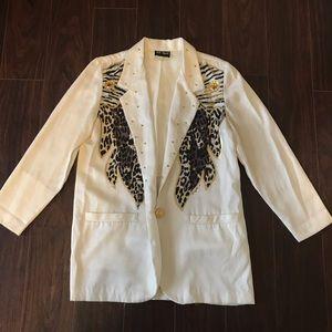 Vintage AB Sport Embellished Blazer